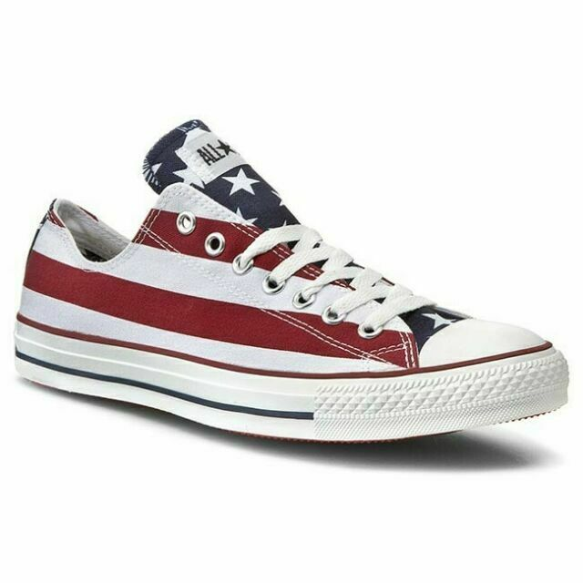 Size 10.5 - Converse Chuck Taylor All Star Low Americana for sale ...