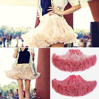 Short Petticoat Ballet Dancer Crinoline Women Mini Underskirt Slips Tulle Tutu
