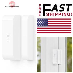 Ring-White-Alarm-Door-Window-Sensor-Remote-Access-Alert-Home-Smart-Security