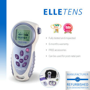 Elle TENS Maternity TENS unit for labour & beyond - Manufacturer Refurbished