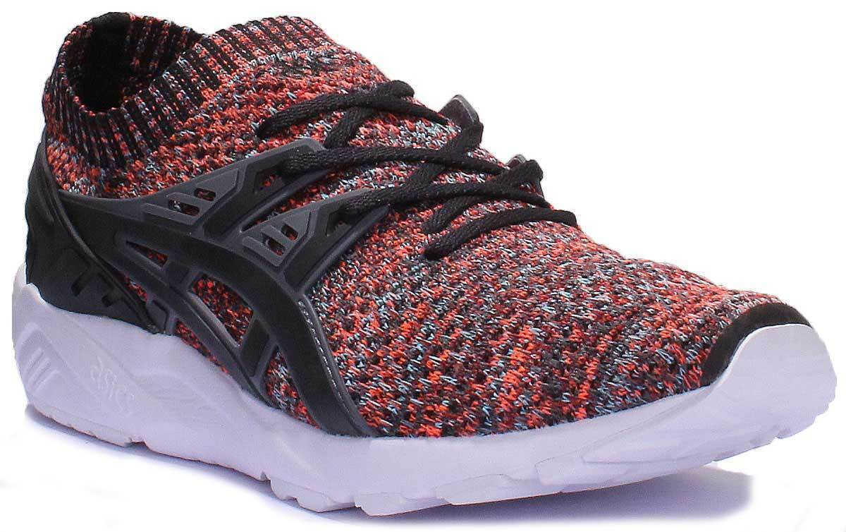 Asics Gel Kayano Space Dye Knit Men Synthetic Black Multi Trainers