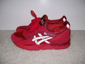 cheap for discount 1c064 949d4 Details about Men SZ 9 Asics Gel Lyte V Romance Pack Valentines Day Roses  H504K-2301 Red White