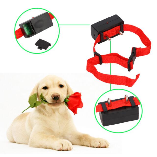 New Pet Dog Cat Anti-Bark No Barking Training Shock Control Collar with Battery
