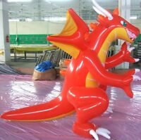 Big Inflatable **RED** Dragon 6 feet+ (1m80+)