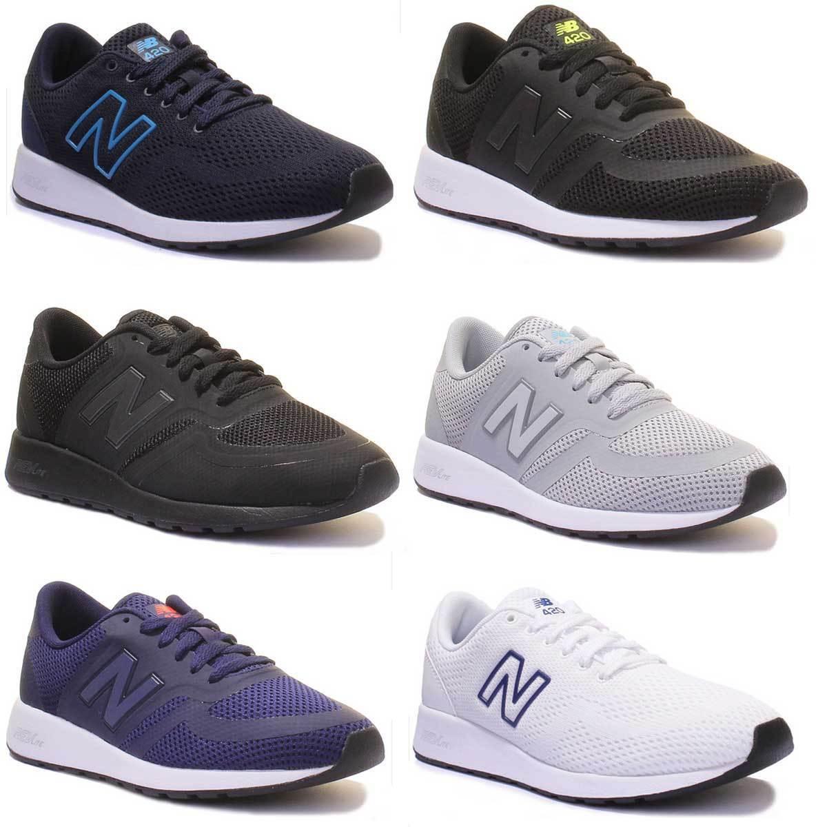 New Balance MRL 420 Femme Noir Mono Baskets 3 - 8