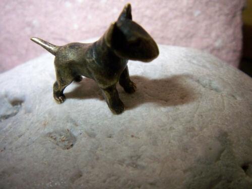 qualitä 1973-1980 Wau-Perro-bullterrier-miniatura bully-artistas-bronce-joyero