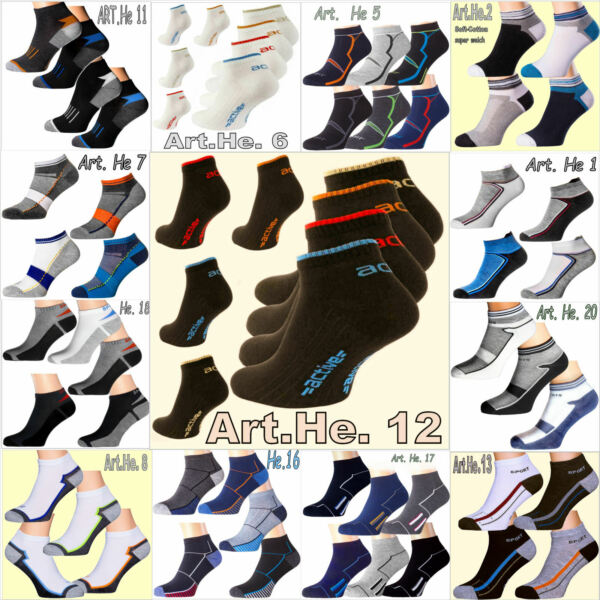 "1-24p Caballeros & Damas Sneakersocken Brevemente Calcetines Deportivos Calcetines Cortos De Polarzip""-ver"