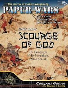 Scourge Of God - Papier Wars De 88 Compas Jeux État Neuf Sans Perforation