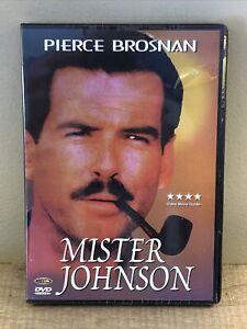 Mister Johnson DVD (2001) Pierce Brosnan New Sealed