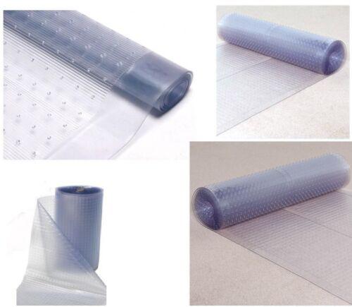Clear Calder Vinyl Carpet Protector 68cm Width Roll Mat Guard Home Office Sheet
