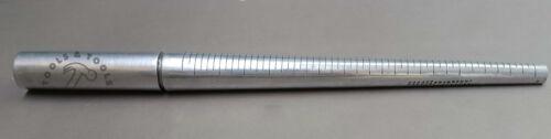 Aluminium anneau mandrin 1-15 avec rainure shaping formant martelage outil bijoux