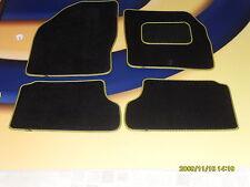 Citroen Saxo 1996 – 2003 Auto Negro alfombrillas Con Rosa ribete