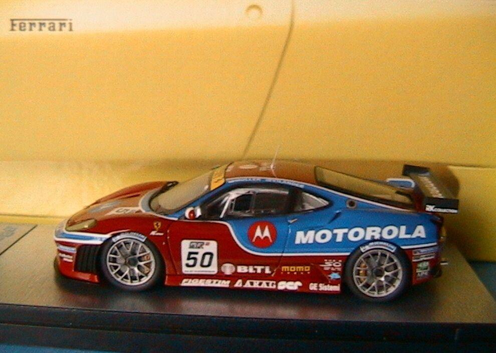 FERRARI F430 GT2 MULLER VILLANDER WINNER GT FIA 2007 TEAM AF CORSE MOTorLA BBR