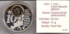 1 Coin, The Forthcomming New Euro Countries, Czech Republic