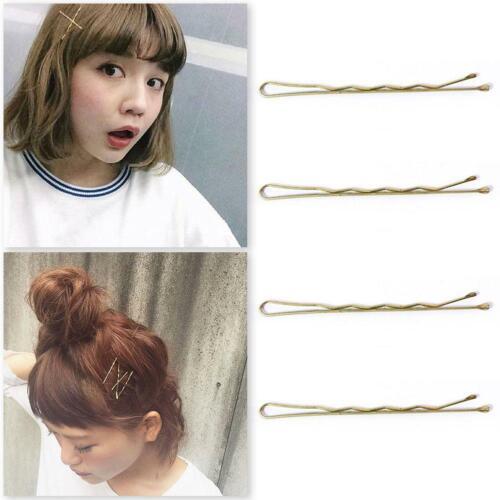 Rhinestone Double Flower Hair Clip Flexible Durable Women Hair Dovetail Clip2