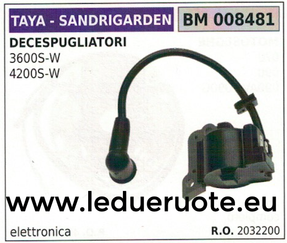 2032200 BOBINA ELETTRONICA DECESPUGLIATORE TAYA SANDRIGARDEN 3600 4200 S-W