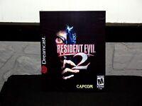 Sega Dreamcast Resident Evil 2 Box Cover Photo Poster Decor