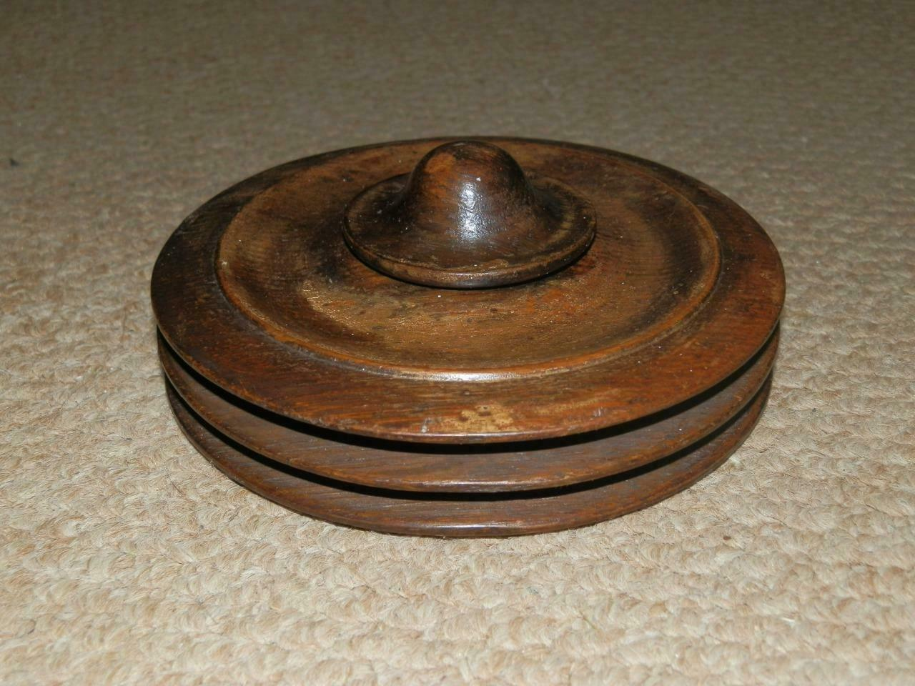 .ANTIQUE TREEN TURNED OAK DRIVING HORSE  WHIP REEL,  wholesale prices