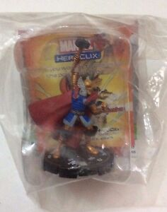 HeroClix-Supernova-224-THE-MIGHTY-THOR-LE-GOLD-RING-MARVEL-NUOVO