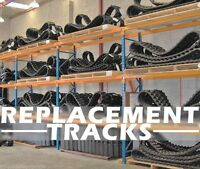 Deere Ct322/ct323 Track Loader Replacement Tracks,set (2) Size,b320x86x52