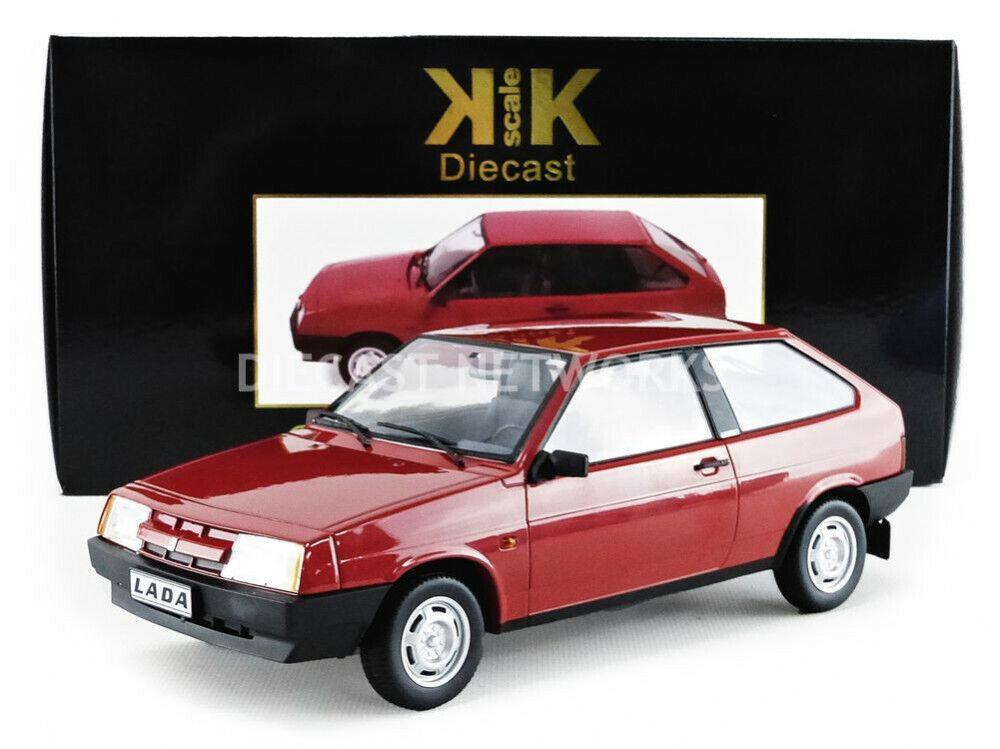 Kk Echelle Modèles 1984 Lada Samara Rouge le de 250 1 18 Nouvelle Version