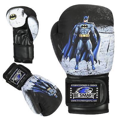 BeSmart FROZEN Kids Boxing Gloves Junior Mitts 4oz 6oz Punch Bag Children MMA Youth