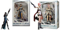 Final Fantasy Xiii Square Enix Ps3 / Xbox Action Figure Lightning & Fang Misb
