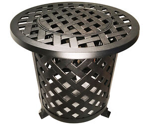 Round-Patio-End-Table-With-Ice-Bucket-Insert-Nassau-Outdoor-Cast-Aluminum