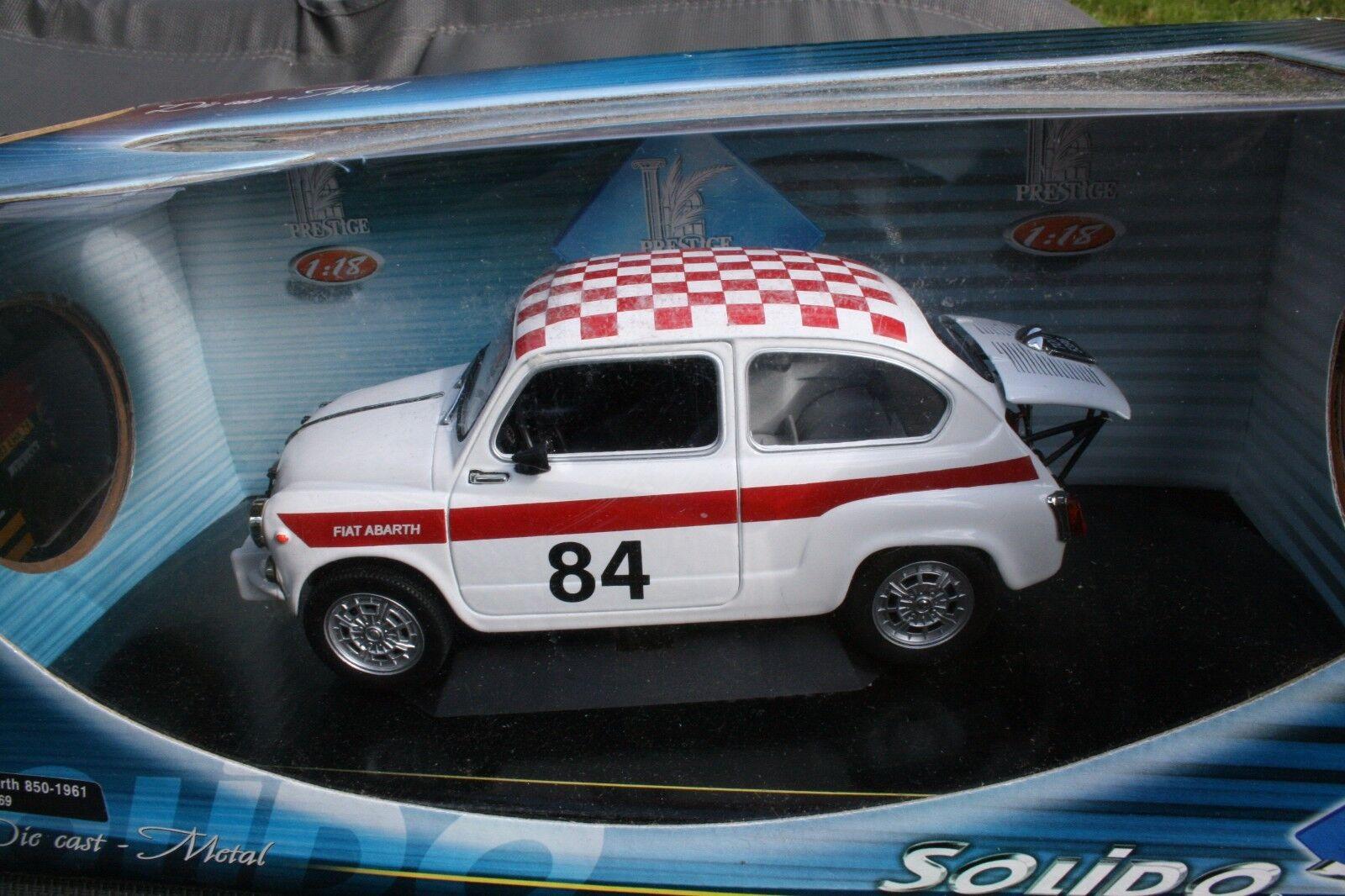 SOLIDO 1 18 FIAT ABARTH 850 1961