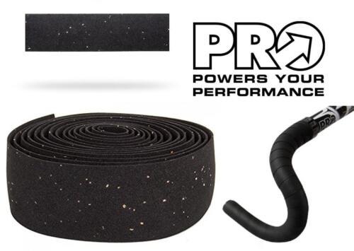 PRO Classic Comfort Road Bike Handlebar Tape 2.5mm Thick Bar Wrap BLACK PRTA0048