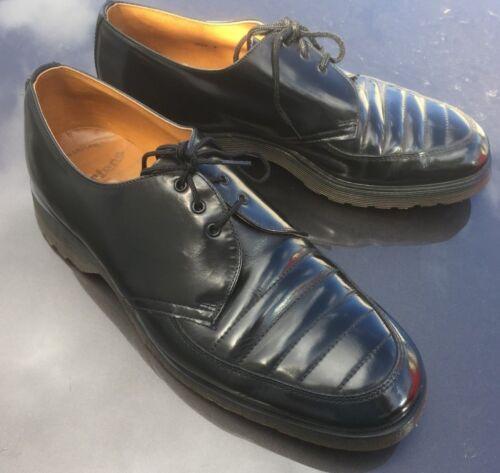Dr Leather Eu Shoes Made 43 Martens In Uk 9 England Black BBn7ECSxr