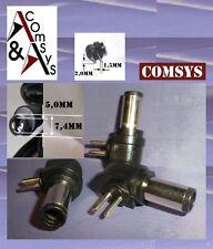 Stecker 2 Pin 1.5*2.0mm auf 7.4mm HP Compaq Notebook universal Netzteil KFZ CAR