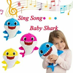 Baby-Shark-Plush-Singing-Plush-NEW-Toys-Music-Doll-English-Song-Gift-for-kids