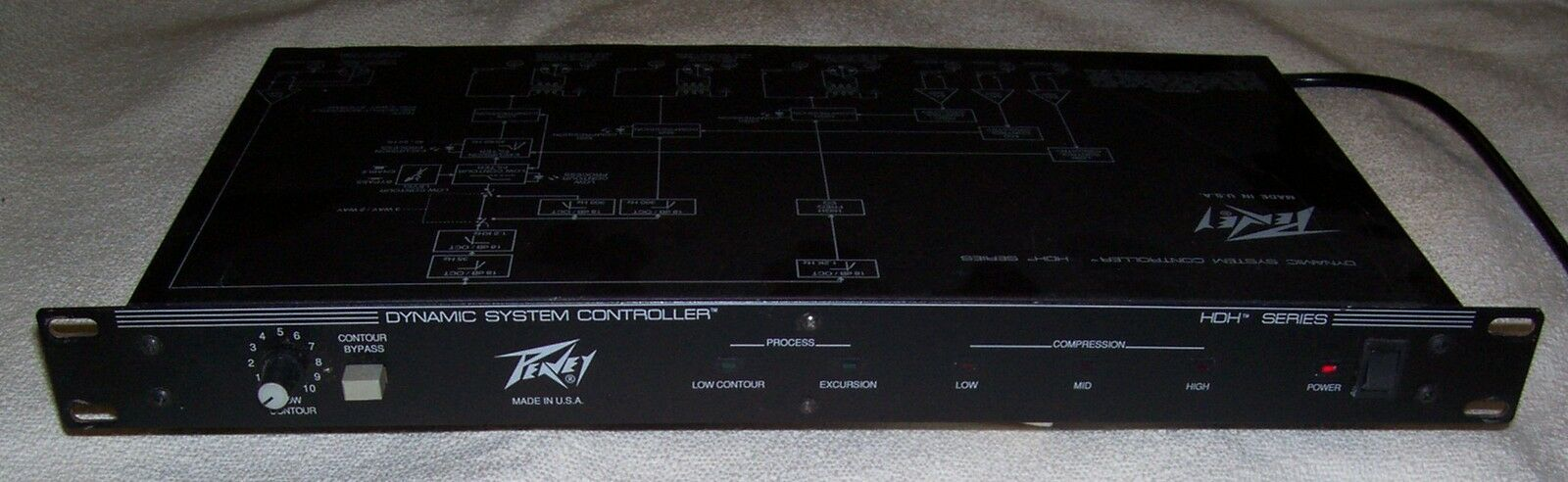 Peavey HDH series Dynamic System Controller (Processore Compressore Crossover)