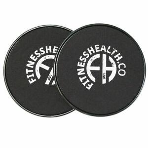 Core Fitness 2 Pcs Sliders Glider Ab Workout Discs Home Gym Training Uk Seller Ebay
