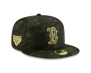 c0bbb003fe5a11 Boston Red Sox New Era 2019 MLB Armed Forces Day On-Field 59FIFTY ...