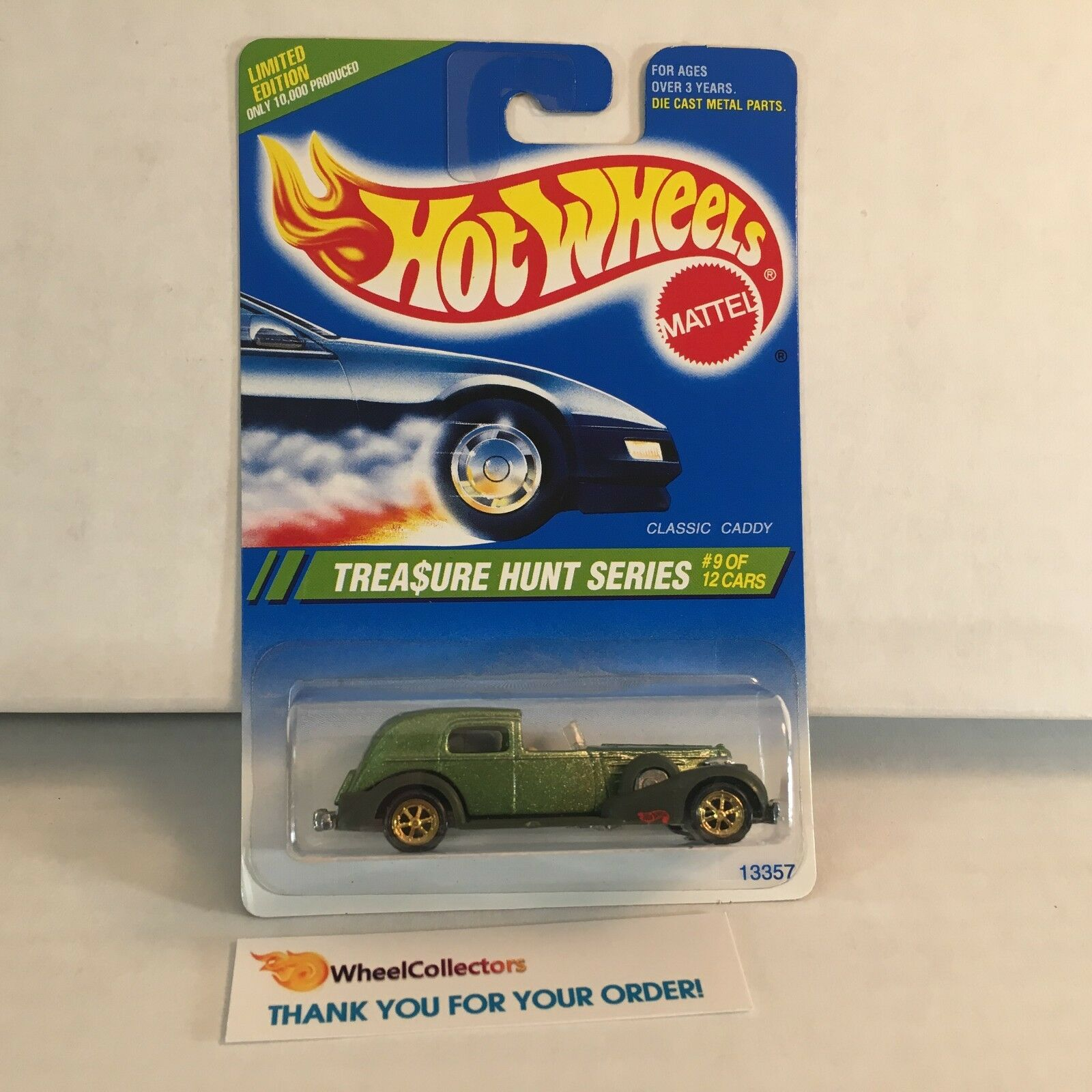 Classic dy  9 of 12  Treasure Hunt 1995 Hot Wheels  F10