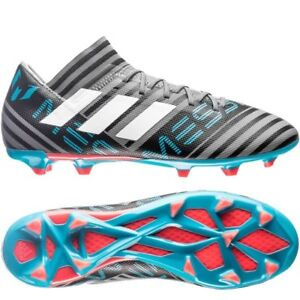 f7de40a4c adidas Nemeziz Messi 18.3 FG 2018 Soccer Shoes Cleats Gray White ...