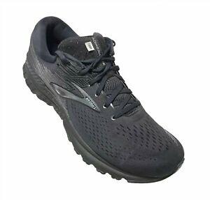Brooks-Adrenaline-GTS-19-Men-039-s-Black-Running-Shoes-Size-13-D