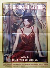 THE SHANGHAI GESTURE - Tierney,Sternberg -AFFICHE 120x160/47x63 FRENCH POSTER RR