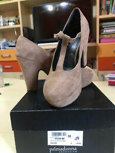 on sale 00764 542a4 Dettagli su Scarpe donna con tacco. Primadonna collection. N.38