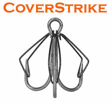 Weedless treble hooks, convert your hooks, clip-on design gamakatsu trokar sz#6