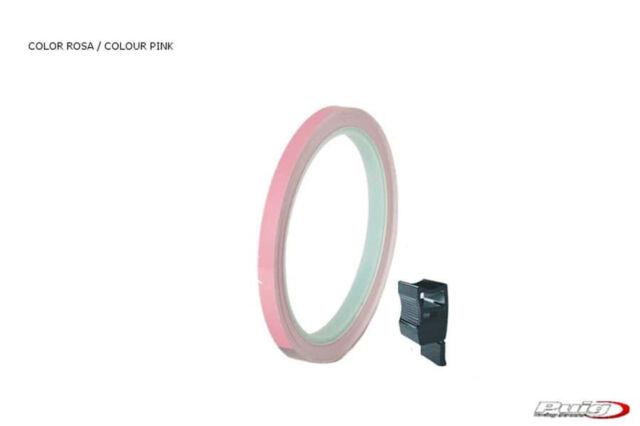 PUIG RIM STRIPS PINK-Strip with applicator-Un kit utilizzabile 2 ruote-Dimension