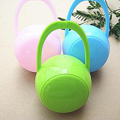 Mini 1PC Baby Boy Girl Infant Pacifier Nipple Cradle Case Holder Storage Box