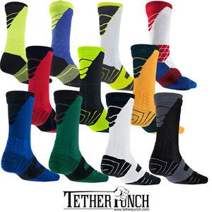 b6ea1e18a106 Nike SX4598 Elite Vapor Cushioned Dri-Fit Football Crew Socks CHOOSE ...