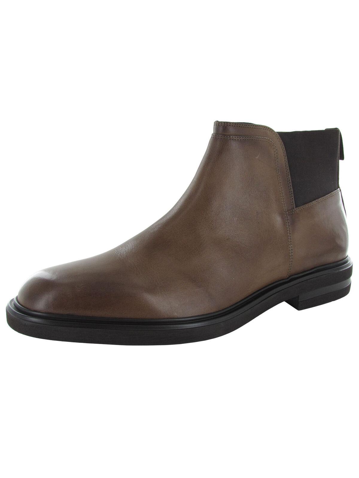 Donald J Pliner Mens Enrico-5X Chelsea Boot Shoes, Expresso, US 11