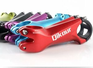 Ultra light 3D Forged MTB Mountain Bike XC Bicycle Stem 28.6*31.8*80MM ±7Degree