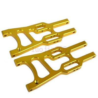 106019 HSP Front Lower Suspension Arm For RC 1:10 Buggy Car 06011up Parts Yellow