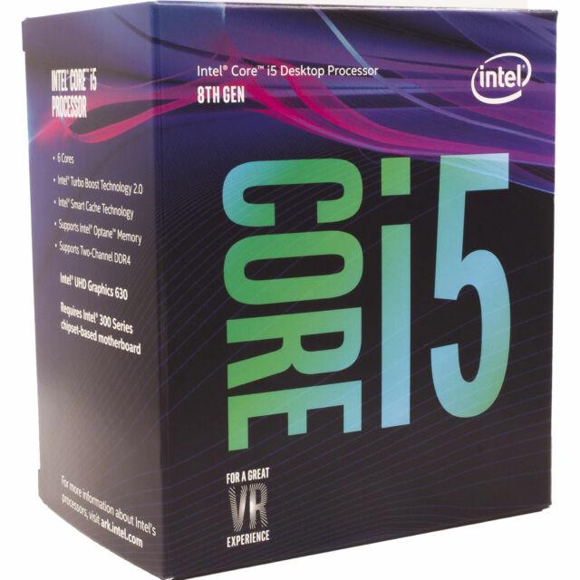 Intel Desktop CPU Core i5 8500 LGA 6 Core 6 Thread 3.0 GHz 9 MB Cache Processor