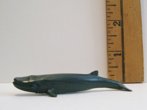 MINIATURE ZOO FIN WHALE A1 TOY ACCESSORY LEARNING SHADOWBOX KNICK KNACK